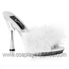 GLITZY-501-8 White/Clear